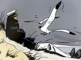 Corto Maltese, uno dei più noti personaggi dei fumetti italiani