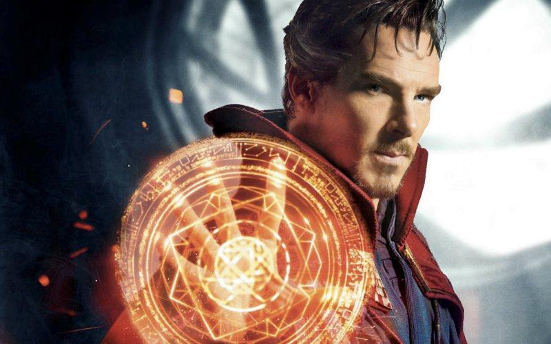 Il Dottor Strange interpretato da Benedict Cumberbatch