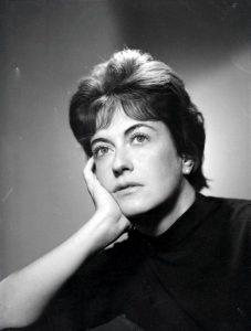 Cecilia Casanova negli anni giovanili