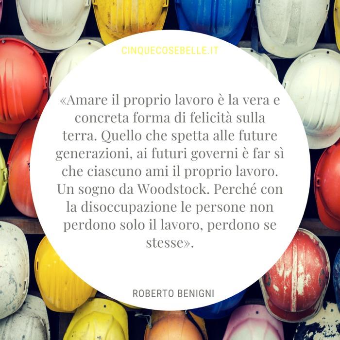 La frase di Roberto Benigni