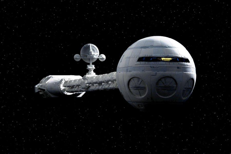 La Discovery in 2001: Odissea nello spazio