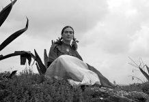 Alla scoperta della biografia di Frida Kahlo con questa foto del 1937 di Toni Frissell per la rivista Vogue
