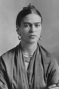 Frida Kahlo fotografata nel 1932 dal padre Guillermo