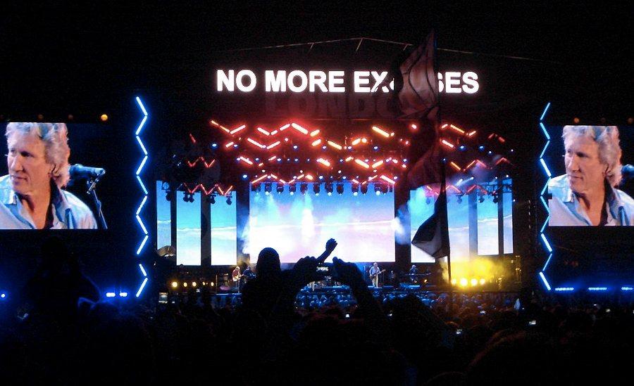 Alla scoperta delle canzoni dei Pink Floyd, qui dal vivo nel 2005 al Live 8 di Londra (foto di Jon Lean via Flickr)