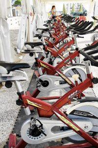 Le cyclette hanno ormai un ingombro minimo