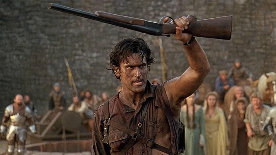 Bruce Campbell ne L'armata delle tenebre di Sam Raimi