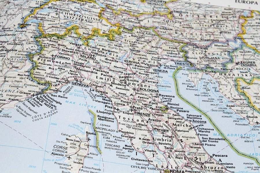 L'Italia del centro-nord