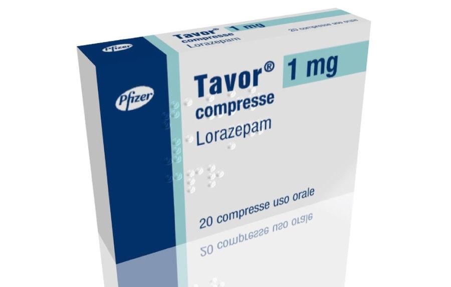 Il Tavor, medicinale a base di Lorazepam