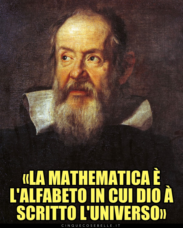 Galileo Galilei e la matematica come lingua dell'universo
