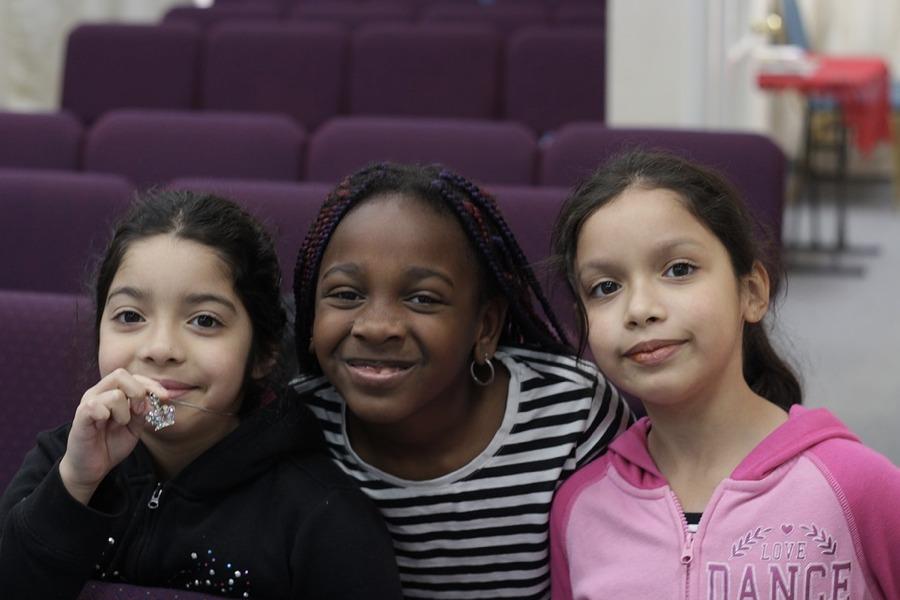 Bambine ispaniche e afroamericane negli Stati Uniti