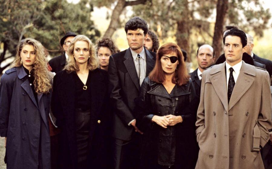 Alcuni dei protagonisti delle prime due stagioni de I segreti di Twin Peaks