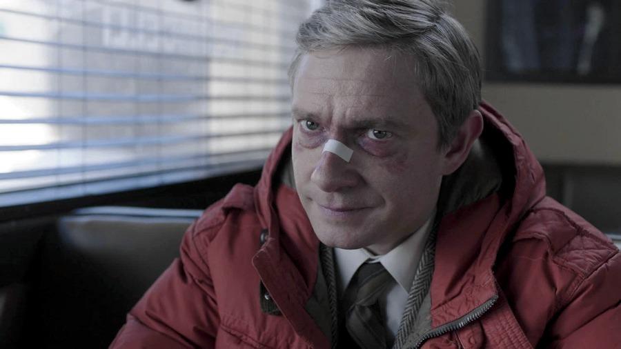 Martin Freeman nella serie TV Fargo
