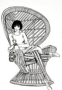 Valentina, il personaggio più famoso di Guido Crepax