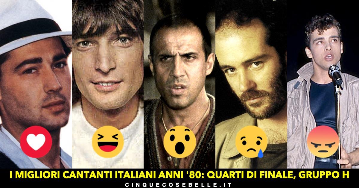 Il gruppo H dei migliori cantanti italiani anni '80