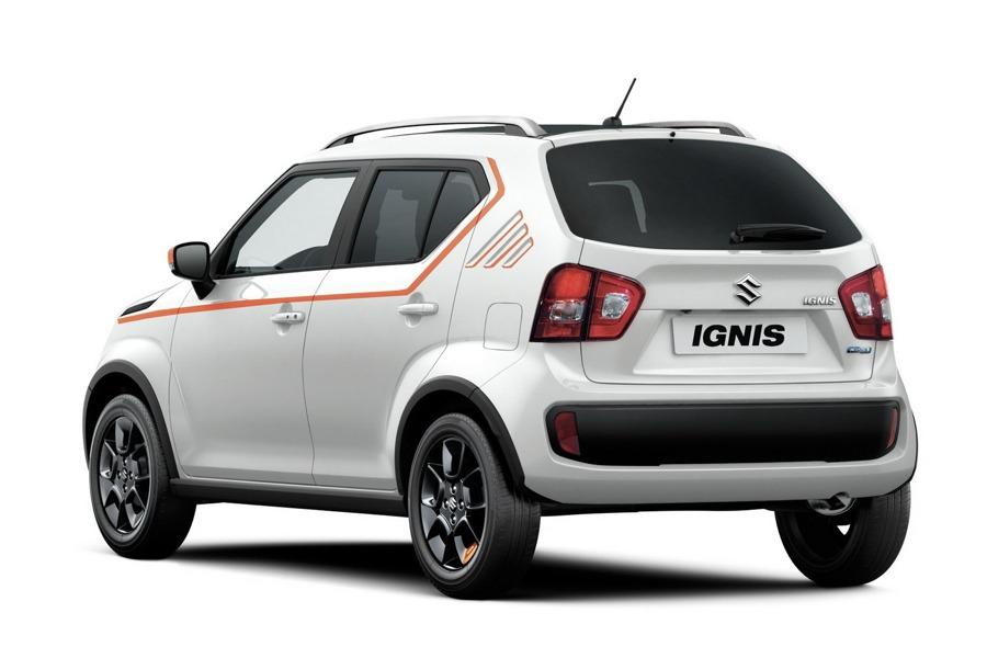 Il retro della Suzuki Ignis