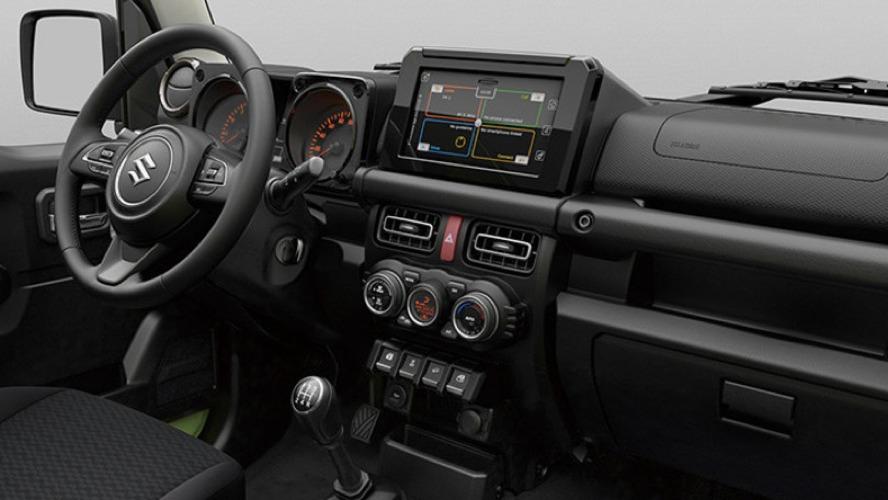 Gli interni della nuova Suzuki Jimny