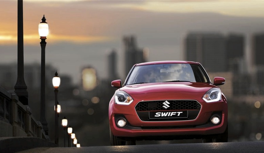 La Suzuki Swift in città