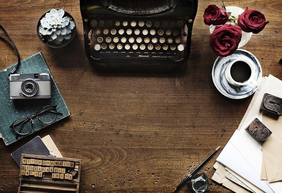 Macchina da scrivere e ispirazione