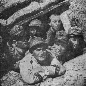 Benito Mussolini caporale durante la Prima guerra mondiale