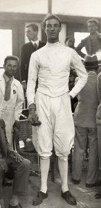 Giulio Gaudini, campione della scherma italiana negli anni '20 e '30