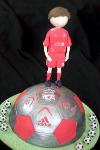 Una torta per un fan del Liverpool (foto di Mags via Flickr)