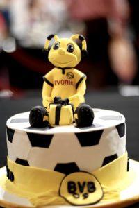 Una torta per tifosi del Borussia Dortmund