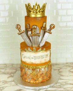 La torta de Il trono di spade (foto di dbakers_miami via Flickr)