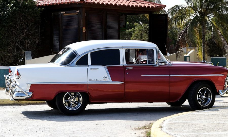 Una Chevrolet Bel Air degli anni '50