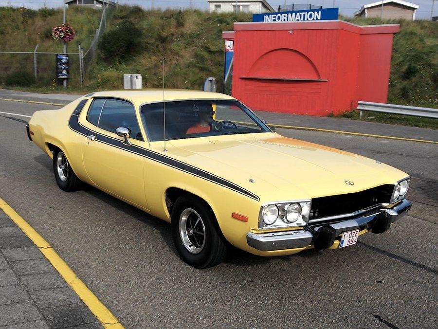 Una Plymouth Road Runner del 1974