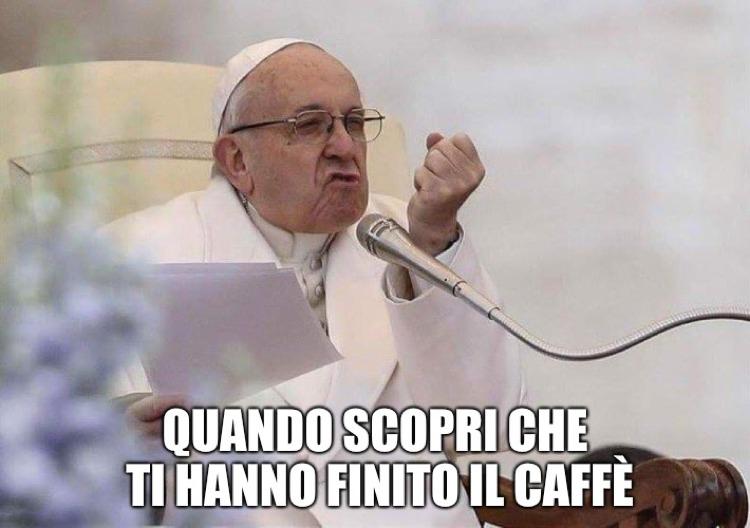 Il papa e il caffè