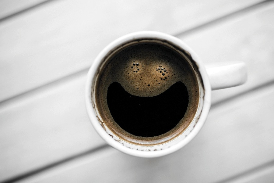 Un caffè per mettere di buon umore