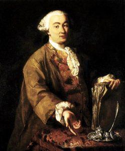 Carlo Goldoni in un ritratto di Alessandro Longhi