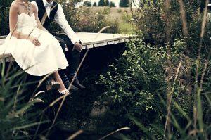 Marito e moglie seduti