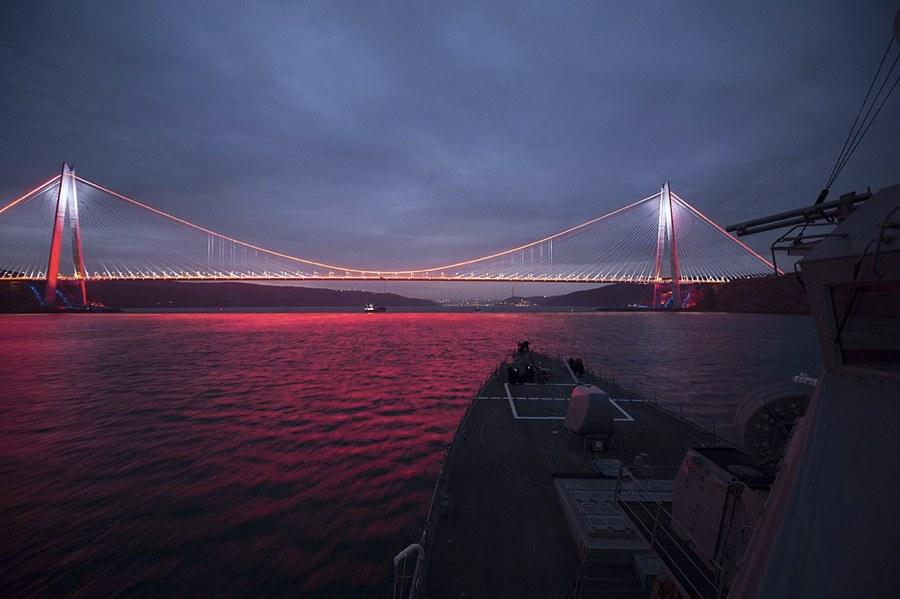 Il ponte Yavuz Sultan Selim a Istanbul