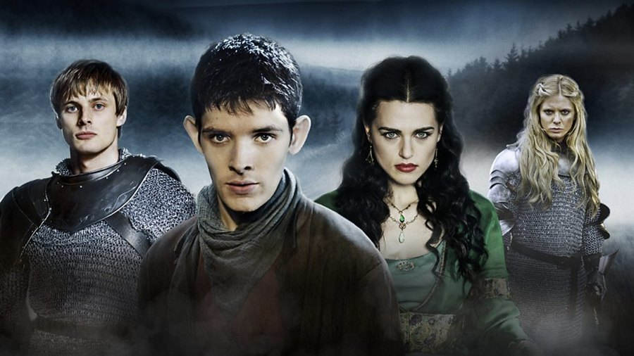 Il cast di Merlin