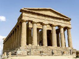 Il tempio greco della Concordia di Agrigento