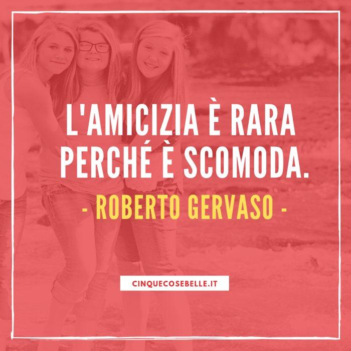 Una frase sull'amicizia di Roberto Gervaso