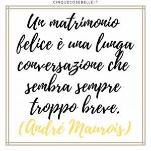 La frase di André Maurois