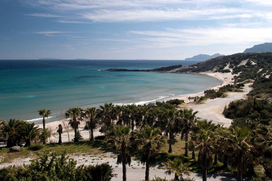La spiaggia di Paradise Beach sull'isola di Kos (foto di Anna & Michal via Flickr)