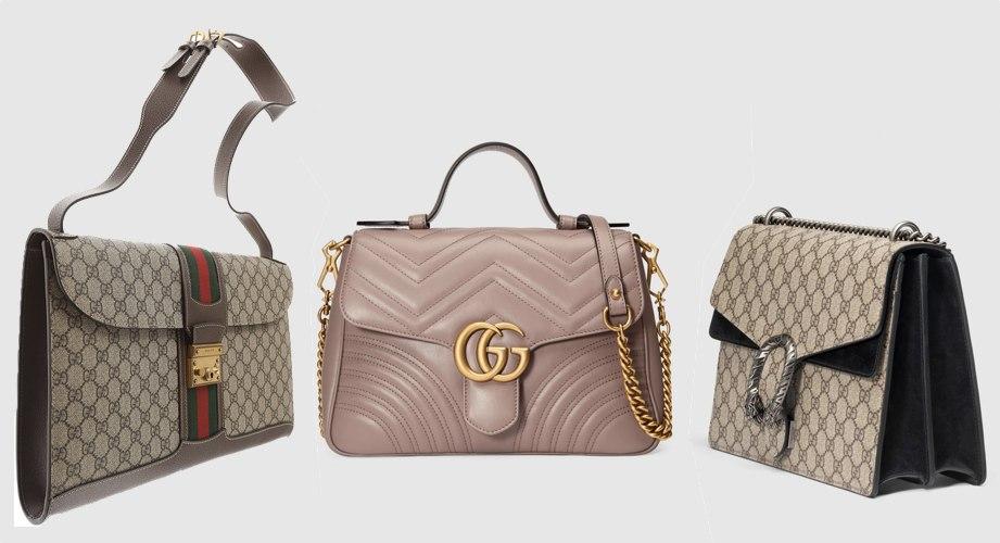Le borse di Gucci