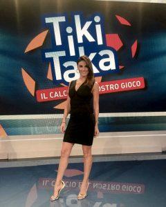 Monica Somma ospite di Tiki Taka