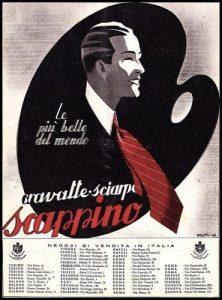 Una pubblicità Scappino degli anni '30