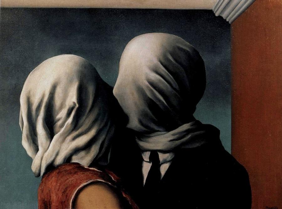 Gli amanti, una delle opere di René Magritte più famose