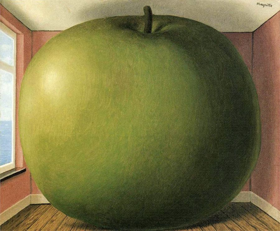 Camera d'ascolto di René Magritte