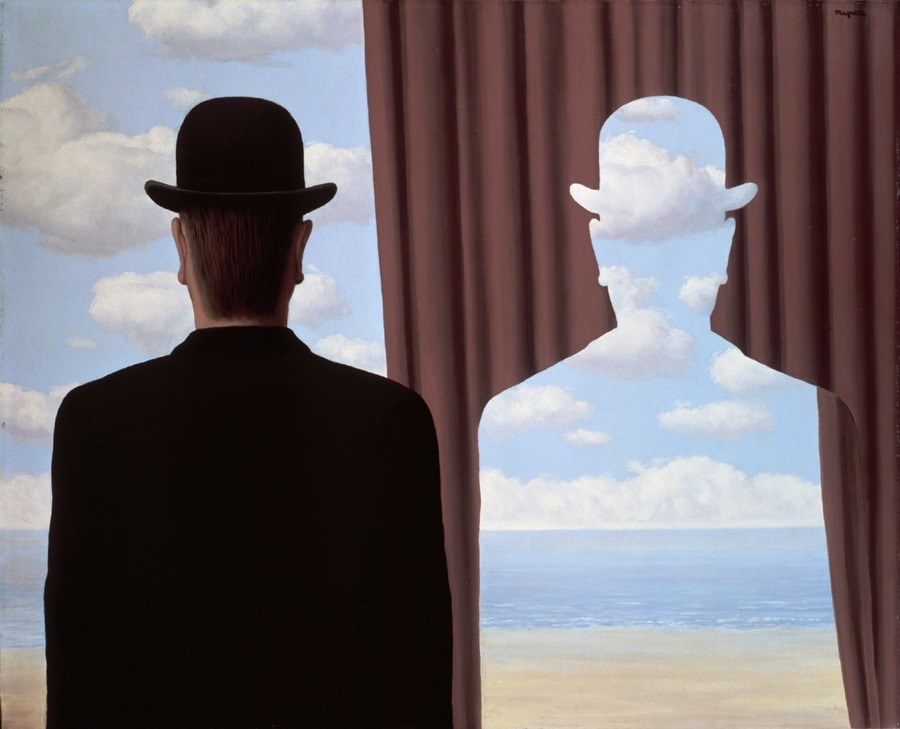 Decalcomania, uno degli ultimi lavori di René Magritte