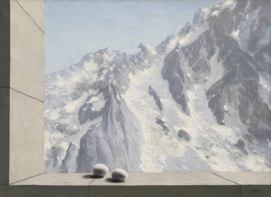 Il dominio di Arnheim di René Magritte