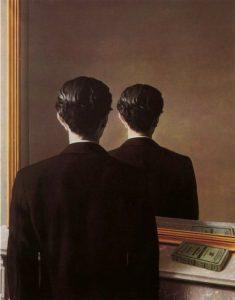 La riproduzione vietata di René Magritte