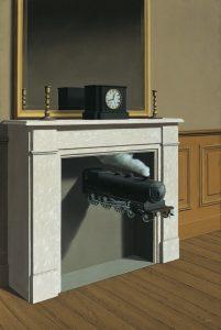 Il tempo trafitto di René Magritte