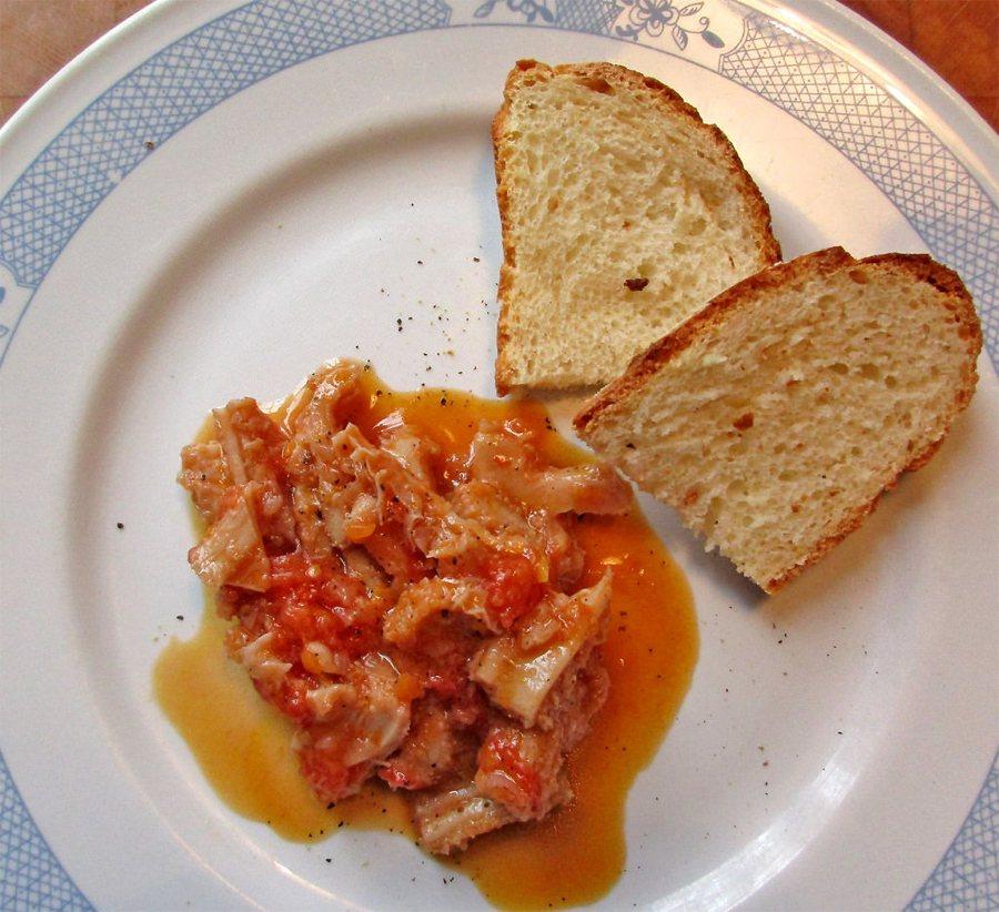 Un piatto di trippa alla fiorentina (foto di fugzu via Flickr)