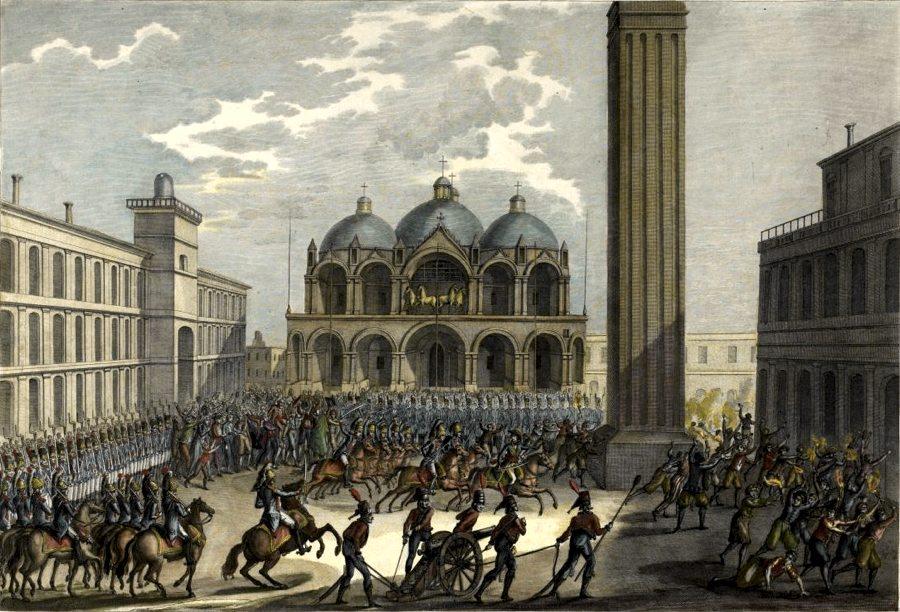 Napoleone a Venezia